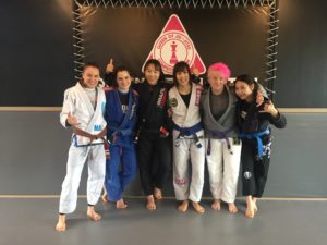 Me, Sarah, Heejin, Chi, Jes and Libby